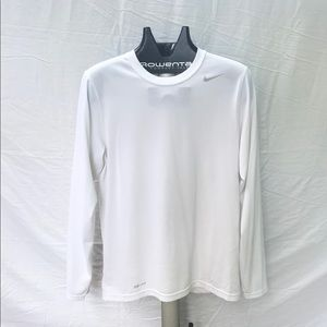 White Nike Long Sleeve